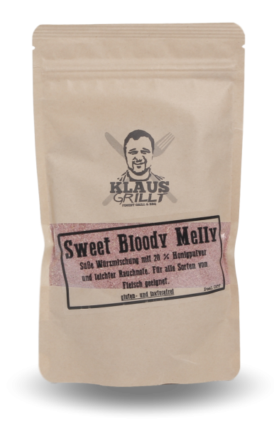 Klaus Sweet Bloody Melly Rub 250g Beutel