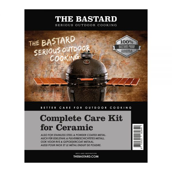 The Bastard Reinigungsset Keramik 2x 500ml