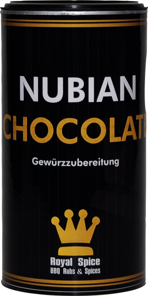 ROYAL SPICE Nubian Chocolate 120g Streuer