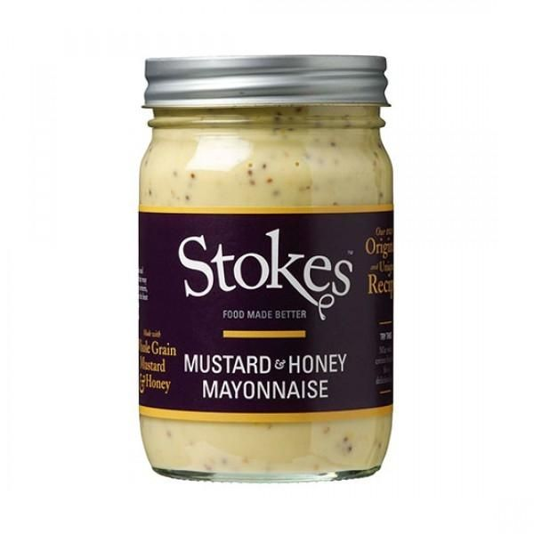Stokes Mustard & Honey Mayonnaise 360ml