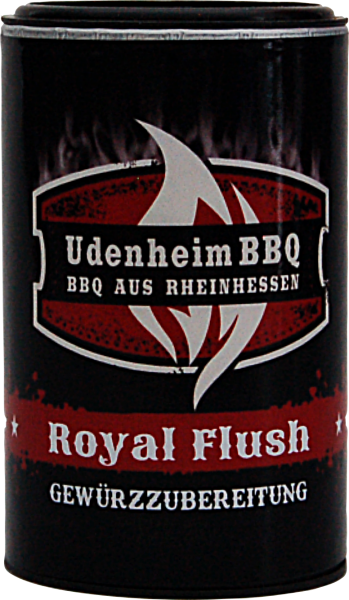 ROYAL SPICE Uedenheim BBQ Royal Flush Rub 120g Streuer