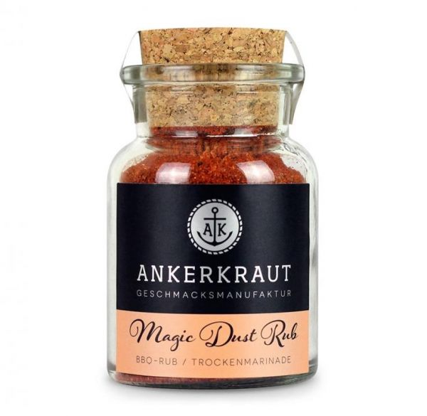Ankerkraut Magic Dust, BBQ-Rub 100g im Korkenglas