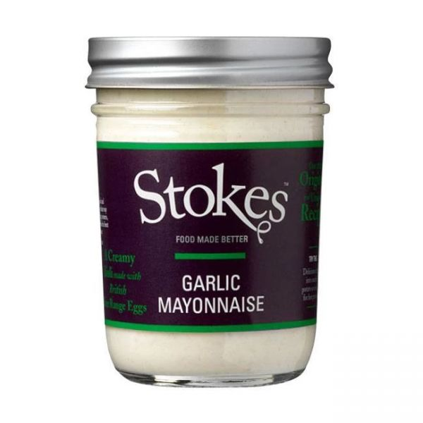 Stokes Garlic Mayonnaise (Aioli) 368ml