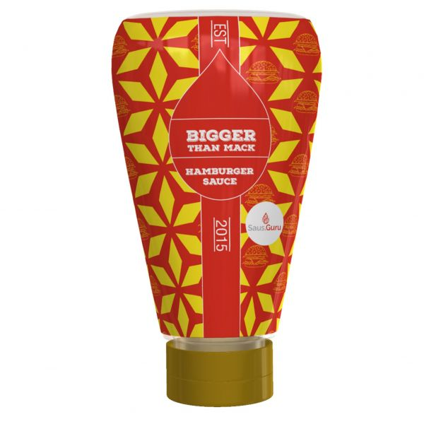 Saus.Guru Snack Sauce - Bigger Than Mack -Hamburgersauce 245ml Squeezer