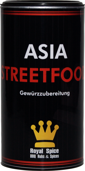 ROYAL SPICE Asia Streetfood 120g Streuer
