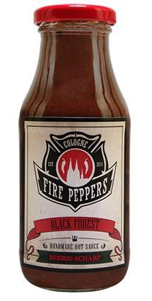 Fire Peppers Black Forest Chilisauce 250 ml