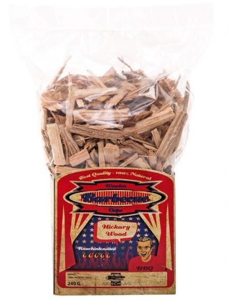 Axtschlag Wood Smoking Chips Hickory 240g