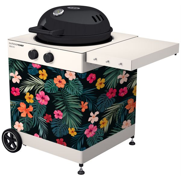 Outdoorchef Arosa Textilverkleidung Aloha Hawaii