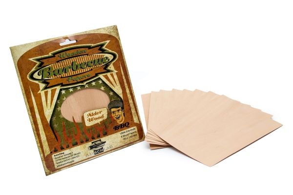 Axtschlag Wood Papers Alder - Erle 8er Pack
