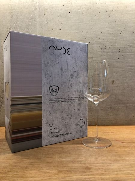 Full Bodied White Wine Glass Natural , NUDE