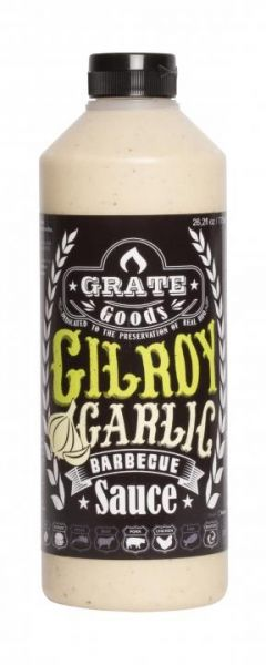 GRATE GOODS Gilroy Garlic Barbecue Sauce 775 ml