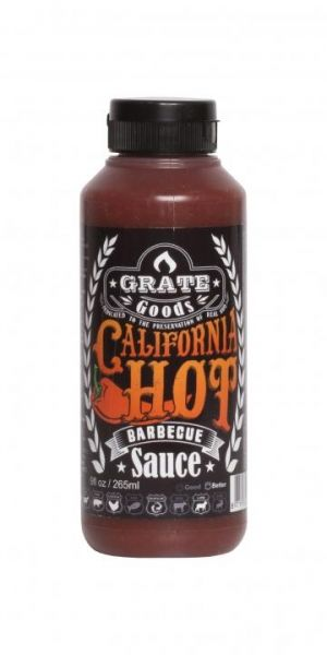 GRATE GOODS California Hot Barbecue Sauce 265 ml