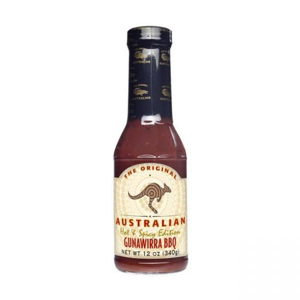 The Original Australian Gunawirra Hot & Spicy BBQ Sauce 355ml