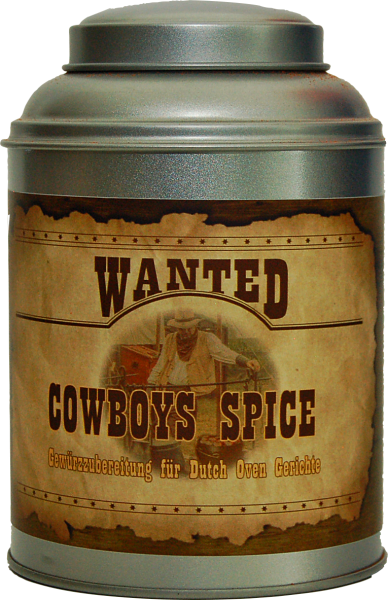 ROYAL SPICE Wild West Cowboys Spice 300g Streuer