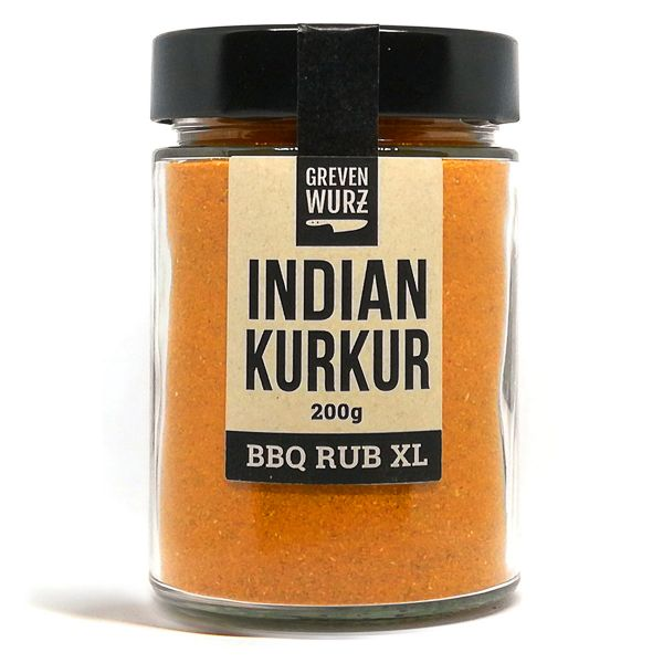 Greven Wurz BBQ RUB XL Indian Kurkur 200g