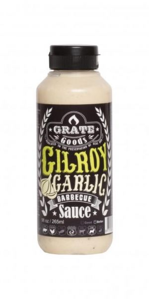 GRATE GOODS Gilroy Garlic Barbecue Sauce 265 ml
