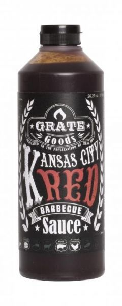 GRATE GOODS Kansas City Red Barbecue Sauce 775 ml