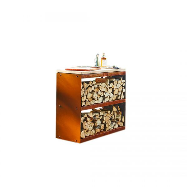 OFYR Wood Storage Corten Dressoir