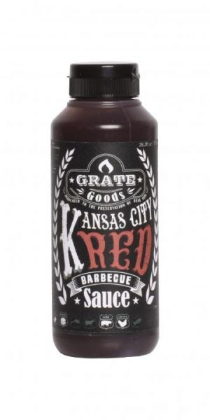 GRATE GOODS Kansas City Red Barbecue Sauce 265 ml