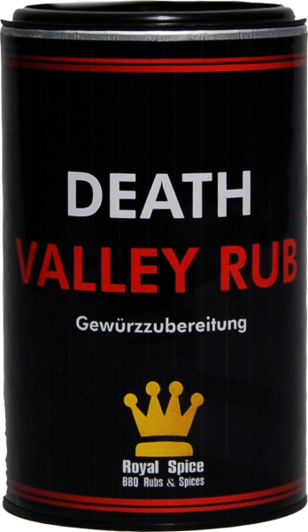 ROYAL SPICE Death Valley Rub 100g Streuer