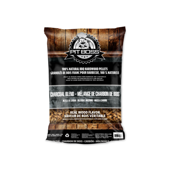 PitBoss Hartholzpellets 9KG - Charcoal