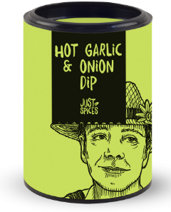 Just Spices Hot Garlic and Onion Dip
