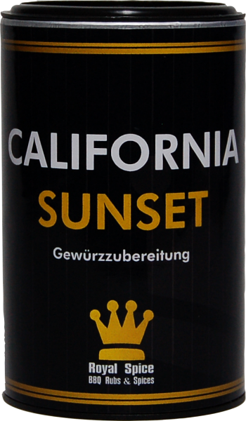 ROYAL SPICE California Sunset Rub 100g Streuer