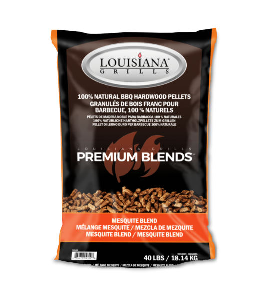 Louisiana Hartholzpellets 18KG - Mesquite