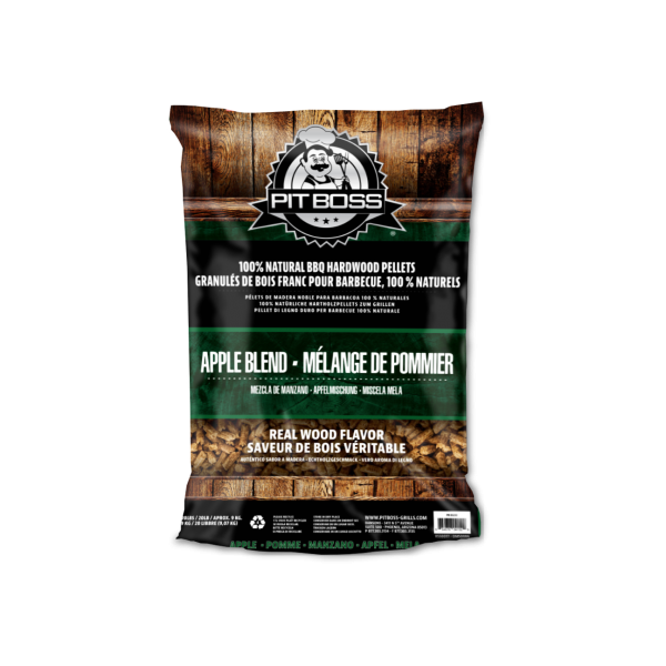 PitBoss Hartholzpellets 9KG - Apple