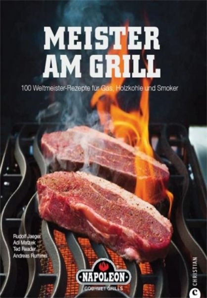 Napoleon Meister am Grill (Grillbuch)